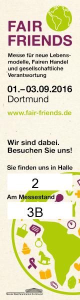 FAIR FRIENDS vom 01.09. bis zum 03.09.2016 in Dortmund