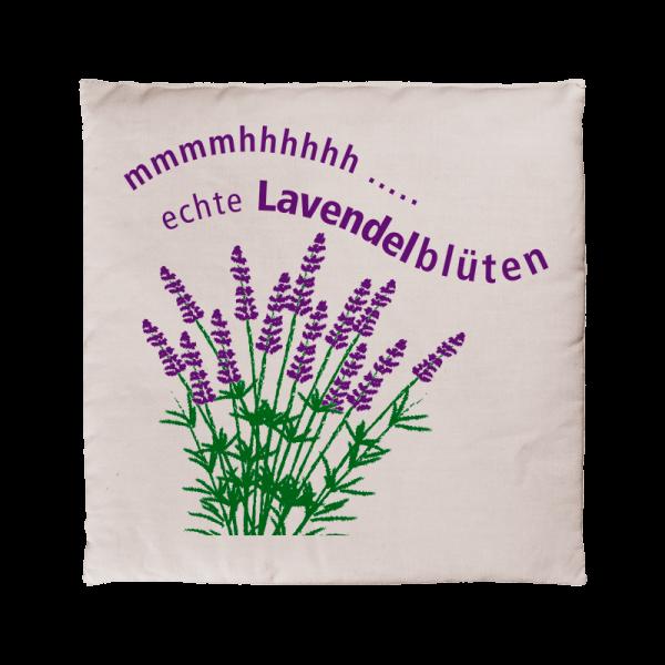 Lavendelkissen 15x15 cm, bedruckt