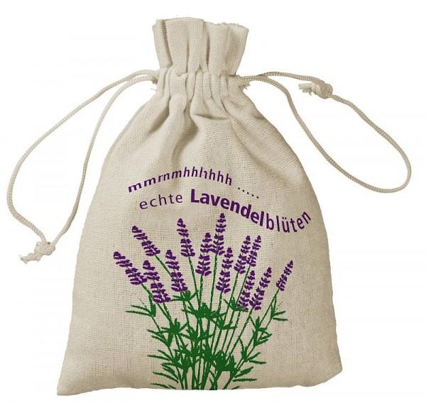 Lavendelbeutel 10x15 cm, bedruckt