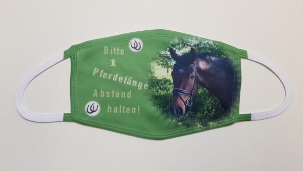Individuelle Mund Nasen Bedeckung Pferd